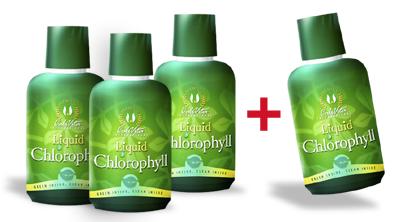 Akcia Chlorofyl 3+1